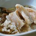 鶏軟骨と小豆玄米ご飯の煮込み