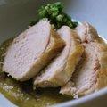 鶏肉のさつま芋ソース