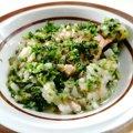 【わんちゃんごはん】『鮭ときのこのとろとろお芋あんかけ』のレシピ