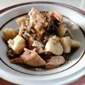 【わんちゃんごはん】ほくほくうまみたっぷり『鮭と里芋のきのこスープ』のレシピ