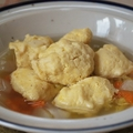 冬野菜とふわふわ鶏豆腐だんご鍋