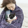 おしゃれに愛犬の寒…の画像