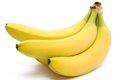 犬がバナナを食べて…の画像