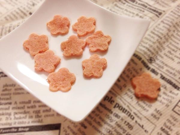 桜風おからクッキー