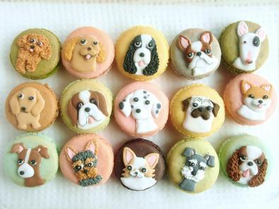 可愛すぎて食べられない!?犬がモチーフのスイーツ(画像)