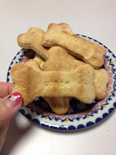 愛犬用に手作りおやつレシピ!HMで簡単クッキー♪ トースターでもOK