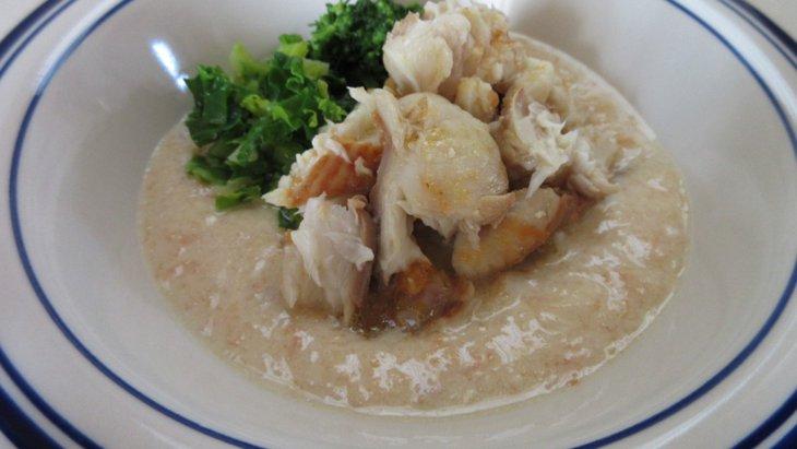 【わんちゃんごはん】ほんのり甘~い『白身魚とにんじんとりんごのポタージュ』のレシピ