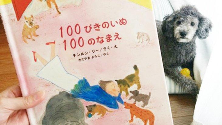 ユニークな絵本『100ぴきのいぬ100のなまえ』をご紹介♪