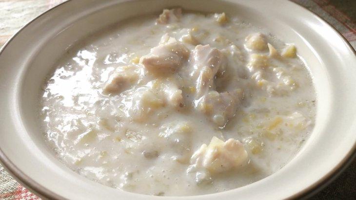 【わんちゃんごはん】ぽかぽか潤う『冬の白いシチュー』のレシピ