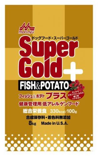 スーパーゴールド フィッシュ&ポテトは老犬向けドッグフード!口コミ・評判