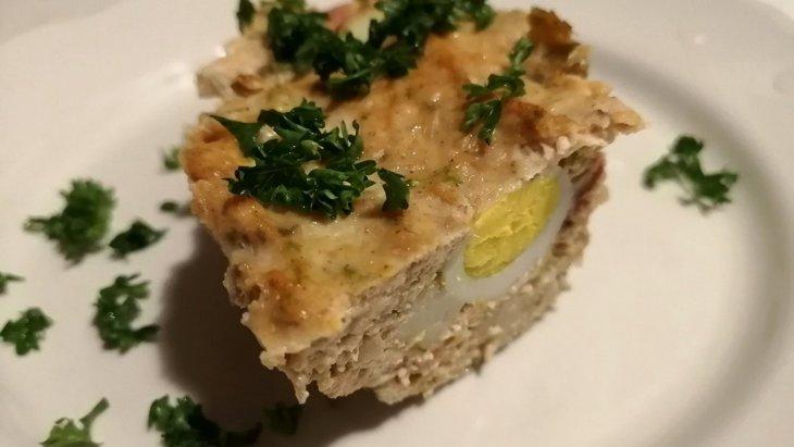 【わんちゃんごはん】『ごぼうと里芋のごちそうミートローフ』のレシピ