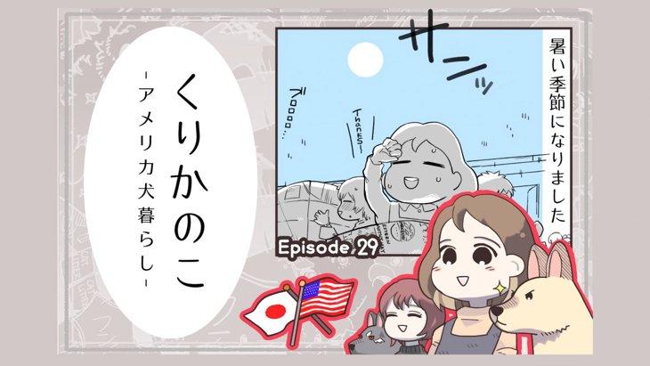 くりかのこ アメリカ犬暮らし【第29話】「つめたいオヤツ」
