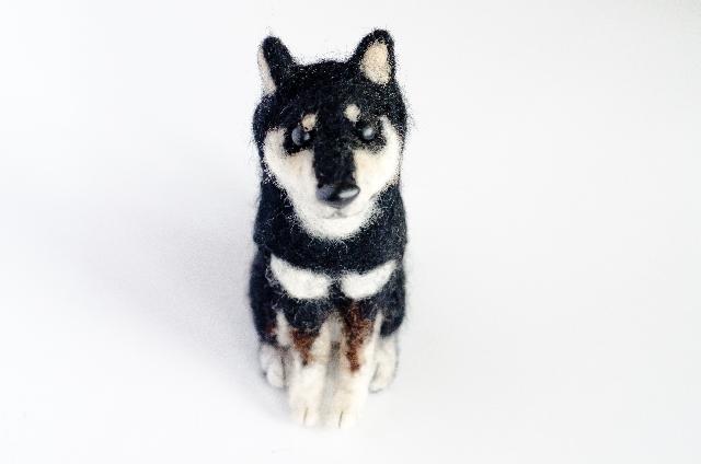 抜け毛を再利用した犬毛フェルトで、ミニ愛犬を作りませんか?