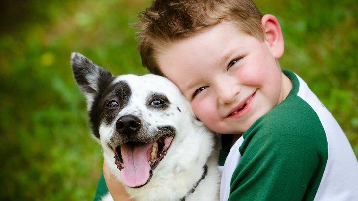 犬との暮らしは幼い子供にも多くのプラス効果があるという調査結果