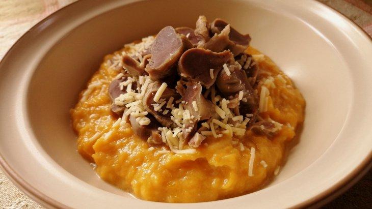 【わんちゃんごはん】『かぼちゃとさつま芋のポタージュ』のレシピ