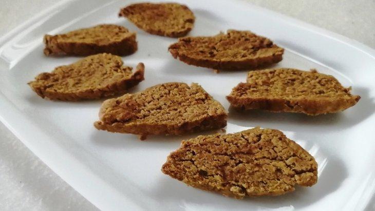 【わんちゃんおやつ】材料3つ!『バナナチップみたいなバナナクッキー』のレシピ