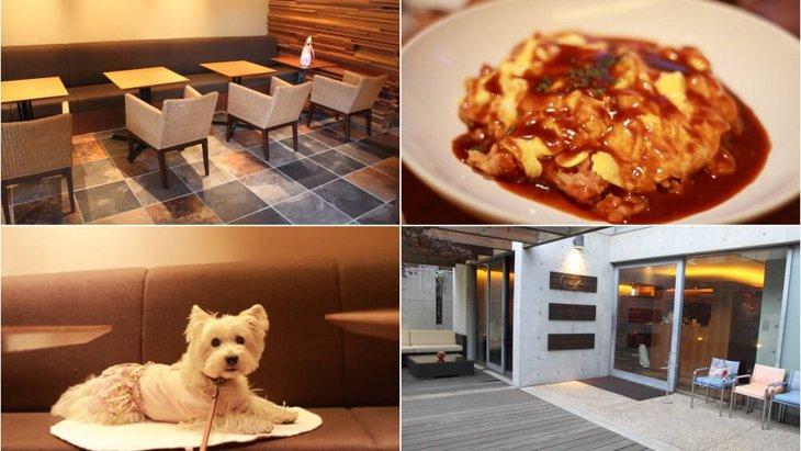 「G Cafe」は犬も入れるおしゃれなカフェ【兵庫県・芦屋川駅】