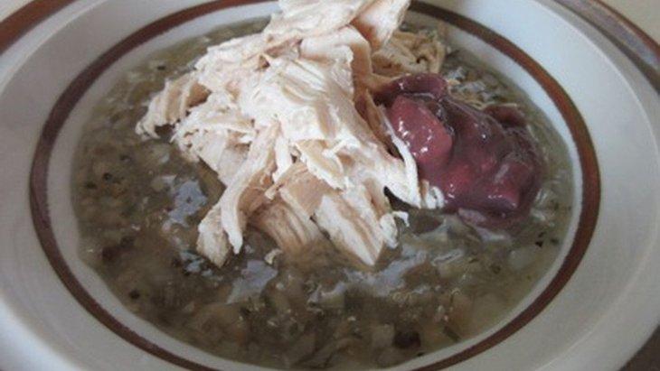 【わんちゃんごはん】『春のデトックス鶏ごぼうスープ』のレシピ