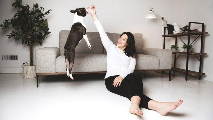犬に『ジャンプをさせすぎてはいけない』?ダメな理由とやめさせる方法