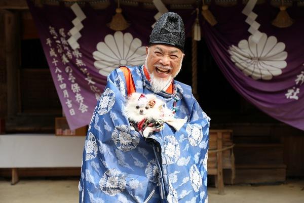 日本一ワンコに優しい!犬好きの宮司さんのいる吉水神社を知ってますか?