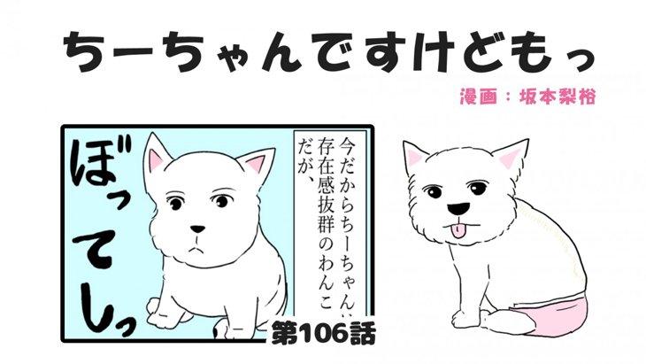 ちーちゃんですけどもっ【第106話】「ちーちゃんの子犬の時の話②」