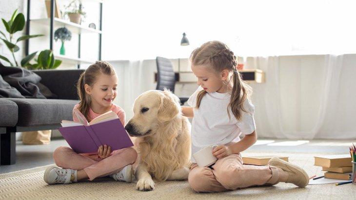 犬にも『本の読み聞かせ』は効果あり?!3つのメリットと正しいやり方