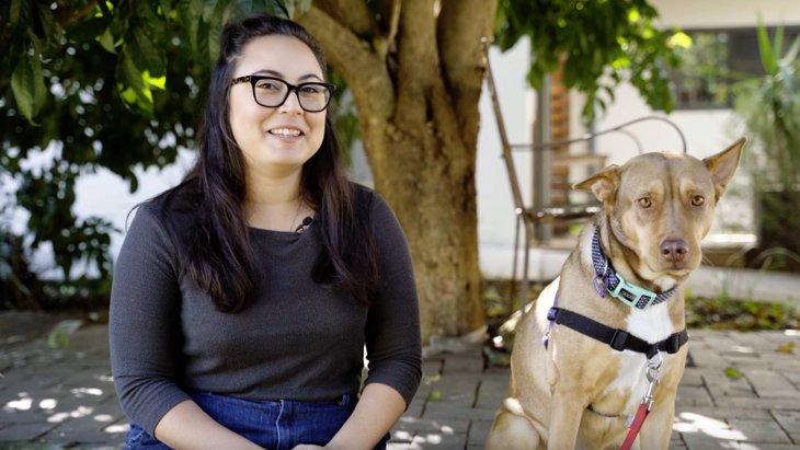 痩せ衰えて保護された犬が里親トライアルプログラムに参加、その結果は?