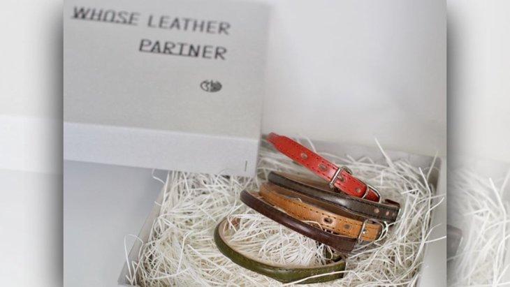 パートナーのために…自然素材にこだわった革製首輪