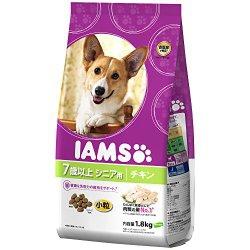 シニア犬のおすすめドッグフード「IAMSのシニア用小粒チキン」