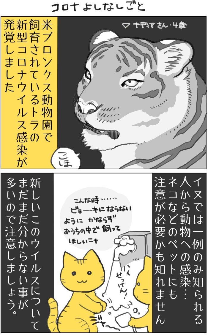 くりかのこ アメリカ犬暮らし第13話1枚目