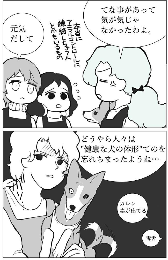 くりかのこ アメリカ犬暮らし第11話2枚目
