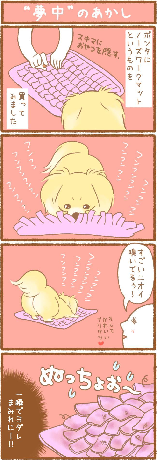 """ただの犬好きです。91話 """"夢中""""のあかし"""