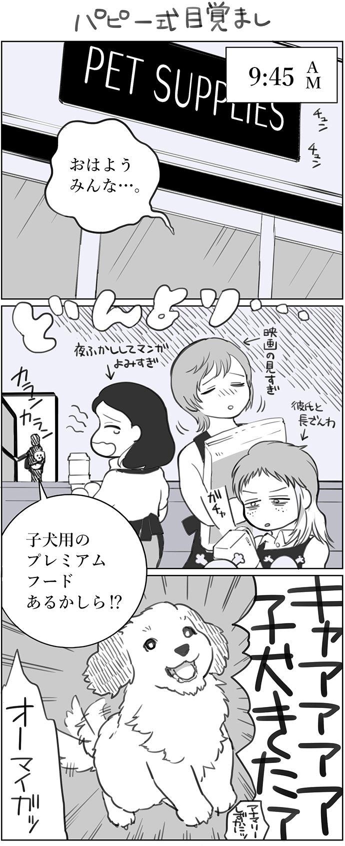 くりかのこ アメリカ犬暮らし 第2話1枚目