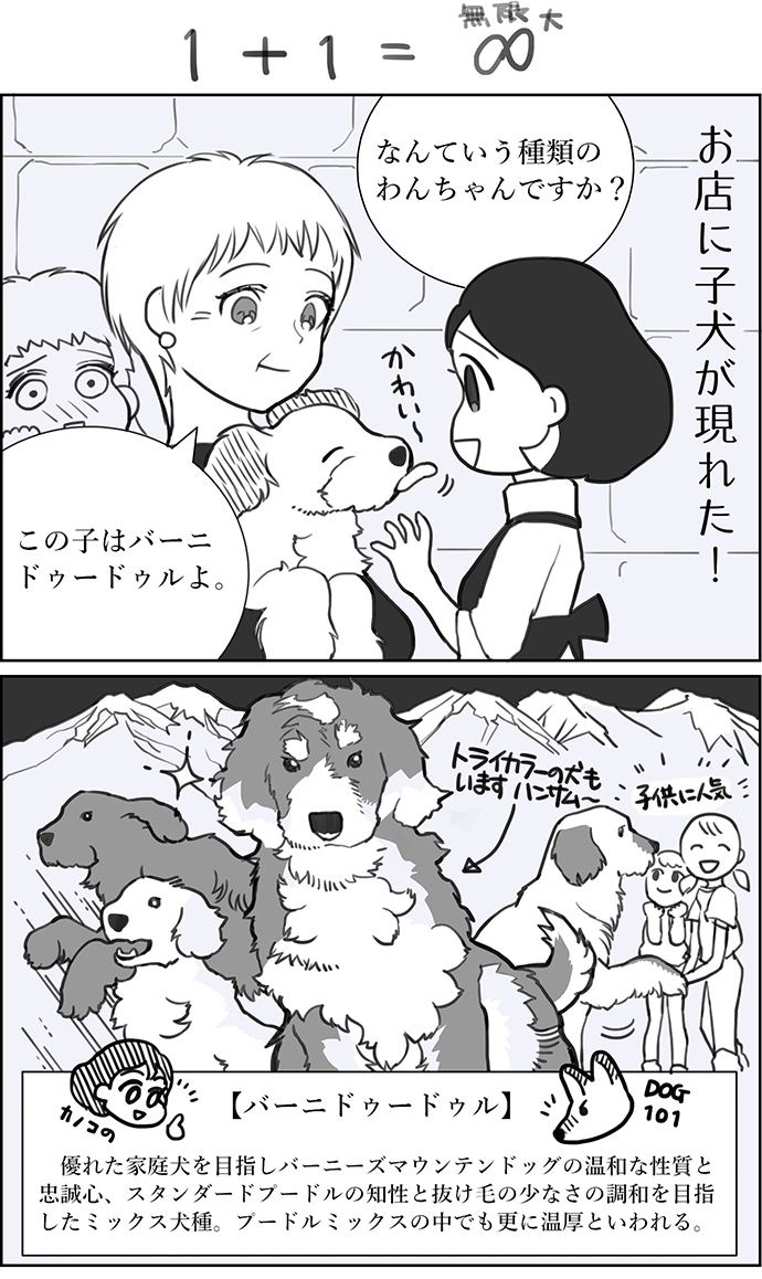 くりかのこ アメリカ犬暮らし 第3話1枚目