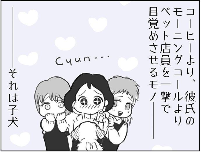 くりかのこ アメリカ犬暮らし 第2話2枚目