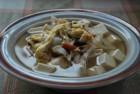 【わんちゃんごはん】元気快復!『鶏肉ときのこのホッとスープ』のレシピ