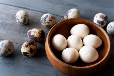 うずらのゆで卵