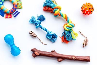 色々な種類のおもちゃ