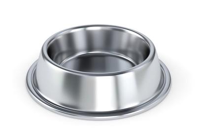 ステンレスの犬用食器