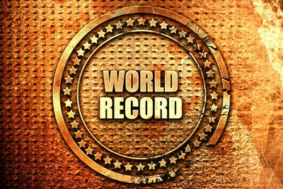 world recordの文字