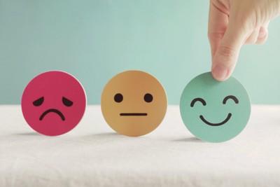 いろいろな感情の顔