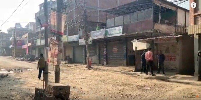 ネパールの街