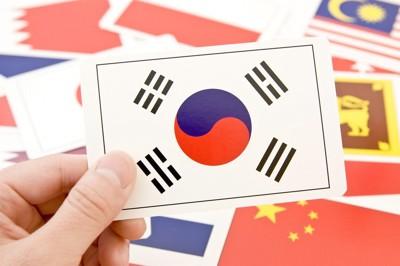 韓国のフラグ