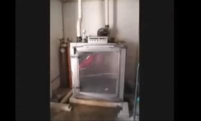 ガス室のケージ