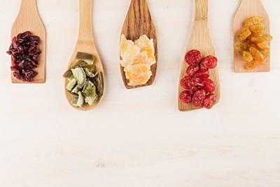 5種類のドライフルーツ