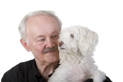 おじいさんと犬 57097268