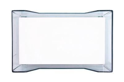透明のアクリル容器