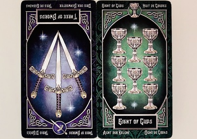 THREEofSWORDS/EIGHTofCUPS