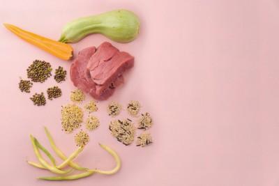 肉と野菜と穀物