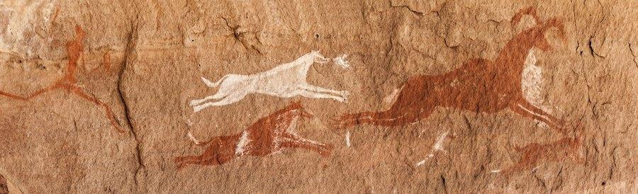 旧石器時代の壁画